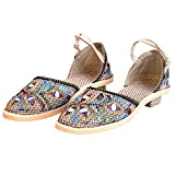 TRADITION INDIA Women Stylish Design Handmade Jute Ballerina Sandals for Women