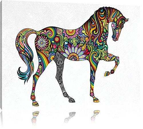cavallo Graceful sa Formato: 100x70 su tela,