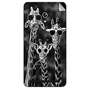 Theskinmantra Cool Giraffe Asus Zenfone 6 mobile skin