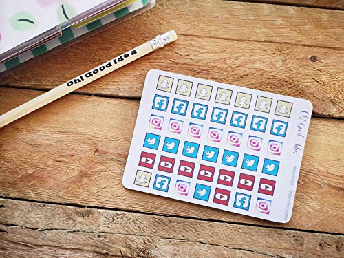 Hand drawn Social Media Icons to...