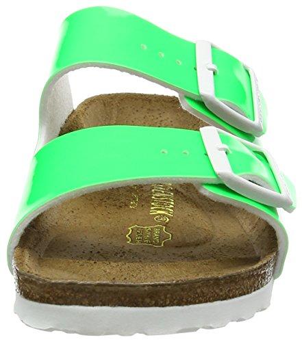 Birkenstock Arizona, Sandales Plateforme femme Vert (Neon Green)