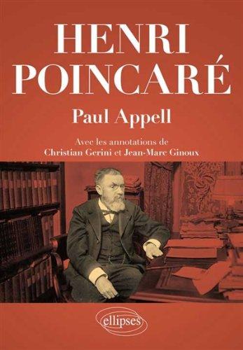 Henri Poincaré par Paul Appell