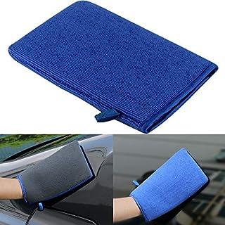OurLeeme Auto-Waschhandschuh, Ton, Oberflächendekontamination, Handtuch für Autos, Detaillierung, Autopflege
