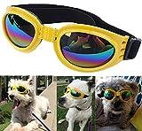 Flyfish Schutzbrille für modische Haustiere, Sonnenbrille für Hunde und Katzen, Sonnen- und Windschutz, Schutz für die Augen