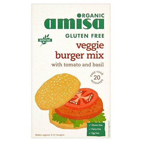 Amisa Hamburguesa Vegetal libre de Gluten Orgánica (Paquete de 2)