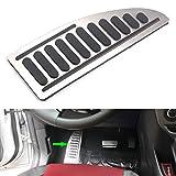 Odster Auto Fu?ablage Pedal Pad Anti-Rutsch-Styling Auto-Zubeh?r f¨¹r Ford Focus MK2 MK3 Fiesta MK7 Mondeo MK4 S-Max C-Max Flucht Kuga
