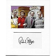 Cuenta atrás–Richard stilgoe mano original y auténtico firmado autógrafo AFTAL COA