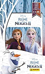 Panini France SA-Álbum + portatarjetas + 2 Fundas Frozen 2019, 2533-014