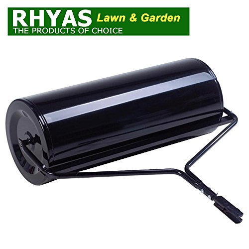 "Rhyas 40"" Tow Towable Garden Roller Quad Ride On Mower Tractor Test"