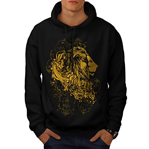 lion-kingdom-jungle-fear-animal-men-new-black-l-hoodie-wellcoda