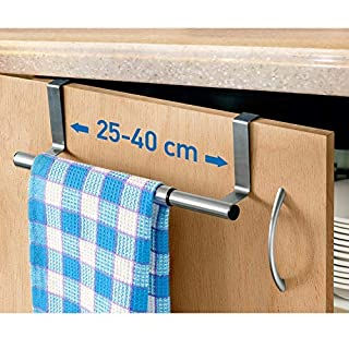 ArtMoon Spread Extendable Over The Door Towel Rail 25/40X8X9cm Stainless Steel