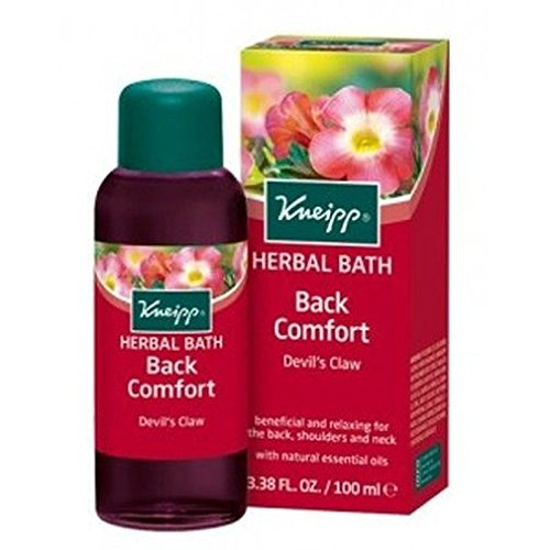 Price comparison product image Kneipp Back Comfort Herbal Bath Oil 100ml