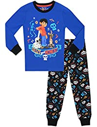 Disney Boys Coco Pyjamas - Snuggle Fit - Ages 3 To 12 Years