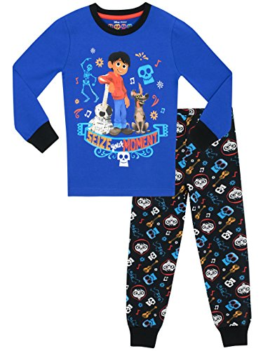 Disney Boys Coco Pyjamas - Snuggle Fit - Age 5 To 6 Years 29083f92d