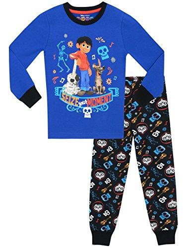 Disney - Pijama para Niños - Coco - Ajuste Ceñido - 6 - 7 Años