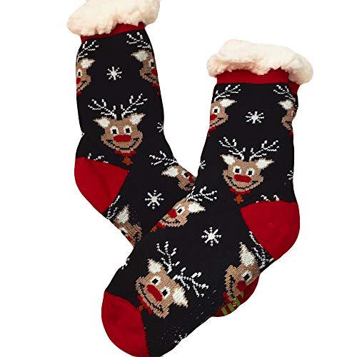 Männer und Frauen Drucken Socken Weihnachten Strümpfe Niedlichen -