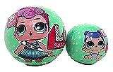 Giochi Preziosi - LOL Surprise SERIE 2 - 2 Sfere con Mini Doll a Sorpresa, LOL e la sua LIL Sisters