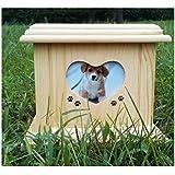 Urna para cenizas, tamaño mediano urna de cremacion urna de caja. Diseñado específicamente para su uso como un gato o perro