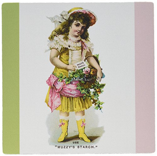 3drose-llc-8-x-8-x-025-inches-mouse-pad-muzzys-starch-young-girl-with-a-basket-of-flowers-in-victori