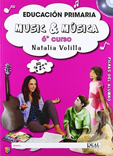 Music and musica 6 - alumno: music & música vol6 (alumno) + dvd