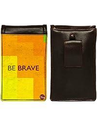 Nutcase Designer Travel Waist Mobile Pouch Bag For Men, Fanny Pack With Belt Loop & Neck Strap-High Quality PU... - B075N4VN28