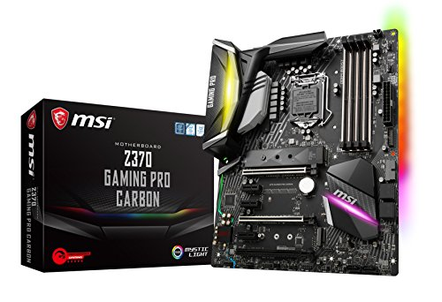 MSI Z370 GAMING PRO CARBON, LGA 1151, HDMI, DDR4, 2x Turbo M.2 & 10x USB 3.1(2x Gen2 & 8x Gen1)