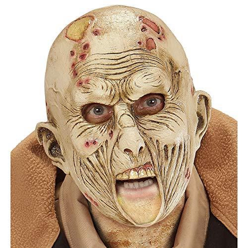 Widmann 00419 Maske Zombie mit offenem Mund, Mehrfarbig (Trinken Halloween-party-spiele Für Erwachsene)