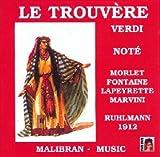 Verdi;Le Trouvere