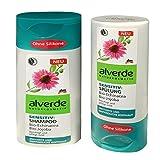 alverde NATURKOSMETIK Sensitiv Shampoo & Spülung (2x200ml Flasche)