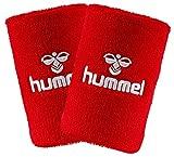 Hummel Old School Small Wristband 2er Set in vielen Farben für Handball und weitere Sportarten (True Red/White (3946), Big)