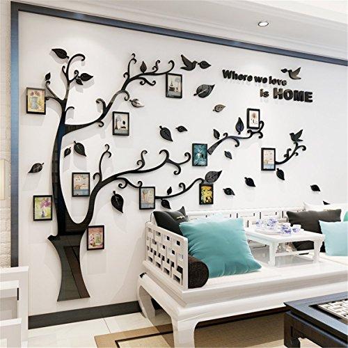 Oamore 3d Adesivi Murali Wall Sticker Forma Albero Adesivi Da Parete
