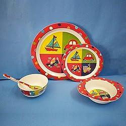 Dream Gifts / Diplomat Royal Melamine Kids Dinner Set 5pcs.