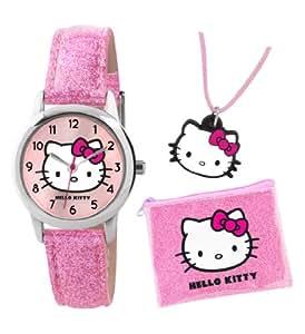 Hello Kitty Kinder-Armbanduhr Analog Kunststoff rosa HK001