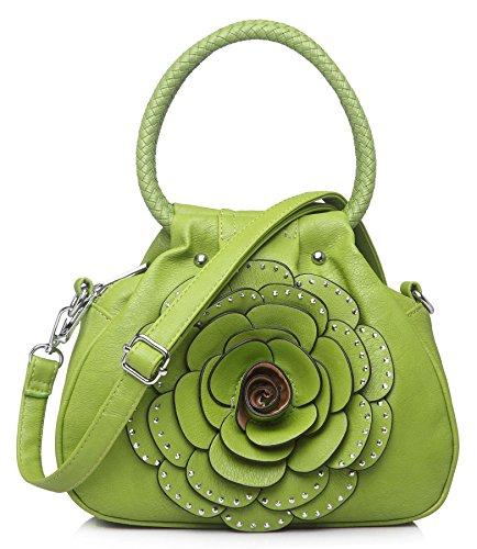 Big Handbag Shop - Borsa donna Dark Taupe