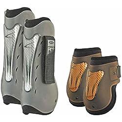 Set Sehnenschoner und Streichkappe Typ Air-Pro Carbon lami-cell Pflege des Pferdes und Scuderia cicalzoo
