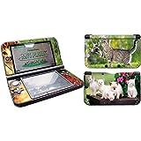 Skins4u Nintendo New 3DS XL Skin Aufkleber Design Folie Sticker Set 2017er Edition - Süße Katzen Kätzchen