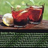 BUTLERS Garden Party CD Songs 70 min mit 15 Tracks - Gottlob&Ostendorf Musik für Gartenparty, Geburtstag, Einweihung