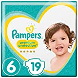 Pampers Premium Protection Windeln, Gr. 6 Extra Large (ab 13 kg), 1er Pack (1 x 19 Stück)