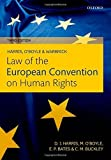 Harris, OBoyle, and Warbrick Law of the European Convention on Human Rights 3rd edition by Harris, David, OBoyle, Michae