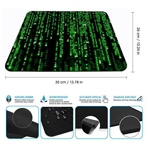 Designer Mousepads / XXL Gaming Size / – Stark haftende Unterseite für optimalen Halt – Optimale Performance für Spiele Kompatibel mit allen Maustypen (Kugel, Optisch, Laser) - 3