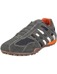 vollständige Palette von Spezifikationen guter Service farblich passend Amazon.co.uk: Geox - Sandals / Men's Shoes: Shoes & Bags