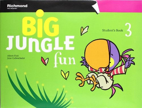 Big jungle fun 3 student's pack