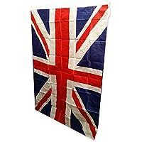 My London Souvenirs - Union Jack, bandiera del Regno Unito Bandiera ricordo del Regno Unito, favolosa e di grandi dimensioni: 91 x 152 cm. Dura a lungo sia in ambienti interni, sia in ambienti esterni: questa bandiera è perfetta per qualsiasi occasione. Per mostrare a tutti il vostro orgoglio britannico.
