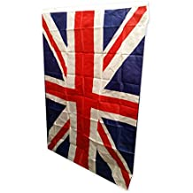 Union Jack Reino Unido Bandera. Un brillante,de gran tamaño,bandera Reino Unido,Souvenir,medición 3ft por 5ft 91 cm por 152 cm Duradero para uso en interiores y aire libre,this Union Bandera es