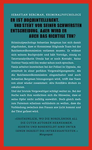 Die Opfer, die man bringt (Ein Fall für Sebastian Bergman, Band 6): Alle Infos bei Amazon