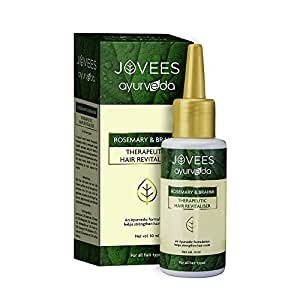 Jovees Ayurvedic Hair Revitaliser - Rosemary and Brahmi (50ml)