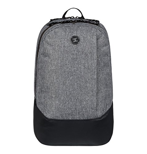 DC Shoes Punchyard Mochila Mediana, Hombre, Rosa/Gris (Charcoal Heather), 22 l