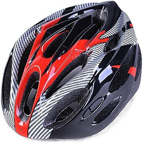 TKWMDZH® Carbonio mila mountain bike equitazione un casco della bici , 5