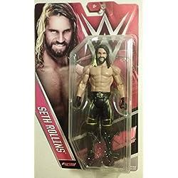 WWE SETH ROLLINS THE EVITATO MATTEL SERIE 60 MASK BASIC ACTION WRESTLING FIGURE