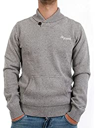 Sweat japan rags homme tEXAS flecked-gris